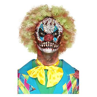 Foam Latex Clown Head Prosthetic, Red, with Adhesive Fancy Dress Accessory