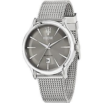 Maserati R8853118002 men ' s Epoca grijs wijzerplaat horloge