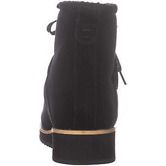 Style & Co. Womens Elissaa faux mocka metallic fotled stövlar