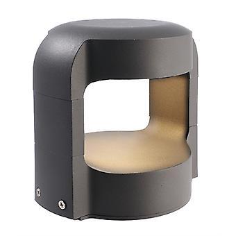 LED base lamp Antliae 15 dark grey 12W 150mm 3000K IP65