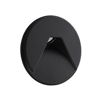 Cover black round for Light Base COB Indoor