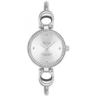 Coach | Womens | Park | Steel Bangle Bracelet | White Dial | 14503448 Watch