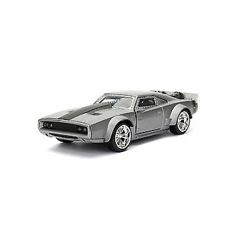 Dodge Charger Dom's Ice Charger Diecast Model Car from Fast And Furious 8