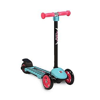 Byox Children's Scooter Tilt, 3 ruote PU, cuscinetto ABEC-5, freno posteriore, alluminio