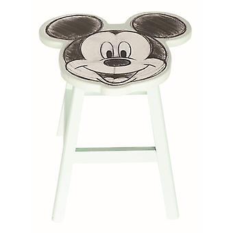 Mickey Mouse Geformter Holzhocker