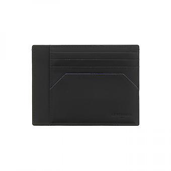 Carry Papers Id Noir-le Bleu Mathieu - Le Tanneur Maroquinerie - Men - Leather