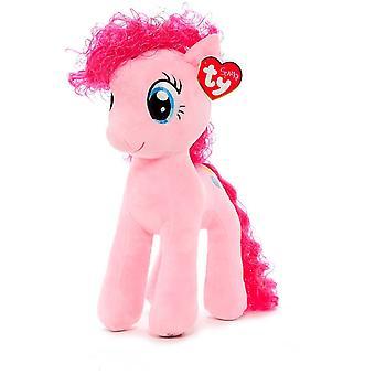 TY gnistre min lille pony Pinkie pie 41cm udstoppet blødt væv