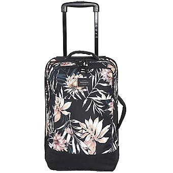 Rip Curl F-Light Cabin Playa Wheeled Luggage in Black