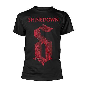 Shinedown opmærksomhed opmærksomhed 2 Brent Smith officielle T-shirt