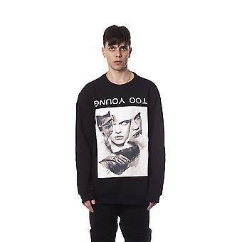 Black sweatshirt Nicolo Tonetto men