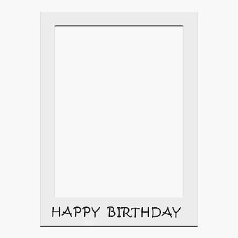 Grande taille Anniversaire Selfie Photo Frame Party Props-Happy Birthday