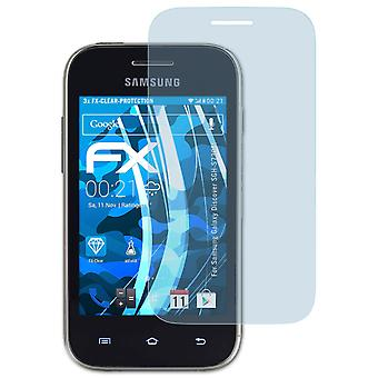 atFoliX Glass Protector kompatybilny z Samsung Galaxy Discover SGH-S730M 9H Hybrid-Glass