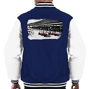 Motorsport Images Rubens Barrichello F2002 Men's Varsity Jacket