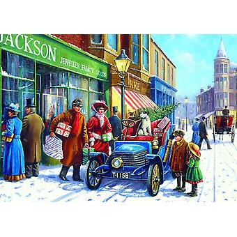 Gibsons Family Christmas Shop palapeli 100 XXL pala