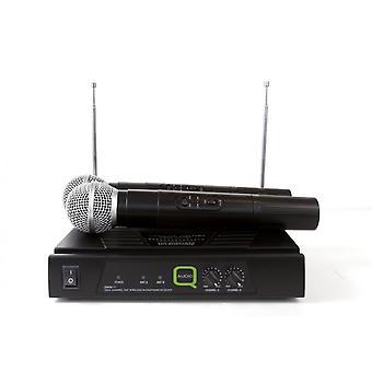 Q-Audio Q-audio Qwm-11hh Vhf Dual Hanheld System (173.8/175.0)