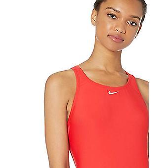 Nike Swim Women's Fast Back One Piece Swimsuit, University Red, 40