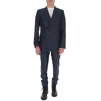 Dolce E Gabbana Gk7smtfu3kqs8281 Hombres's Traje de Algodón Azul