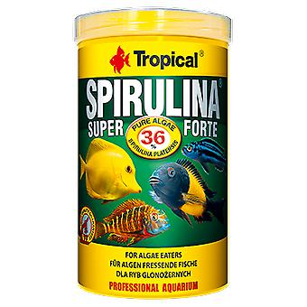 Tropical 70318 Super Spirulina Forte 11 L (Fish , Food , Warm Water)