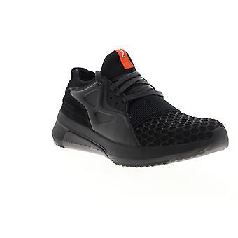 Mark Nason Modern Jogger Narrows  Mens Black Mesh Low Top Sneakers Shoes