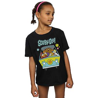 Scooby Doo Girls Mystery Machine Group T-Shirt