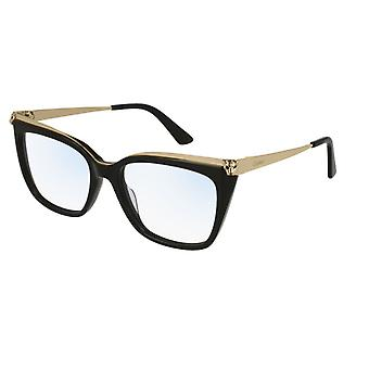 Cartier Panthère de Cartier CT0033O 001 Black-Gold Glasses