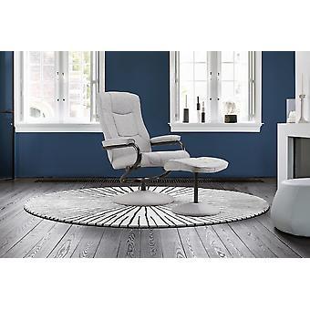 Cadeira e Footstool de Arlington Swivel