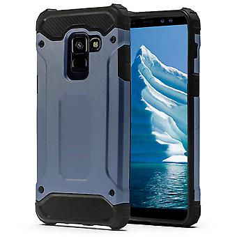 Shell for Samsung Galaxy S9 Plus Dark Blue Armor Protection Case Hard