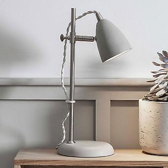 Lampe de bureau de millbank de commerce de jardin dans un béton de polymère