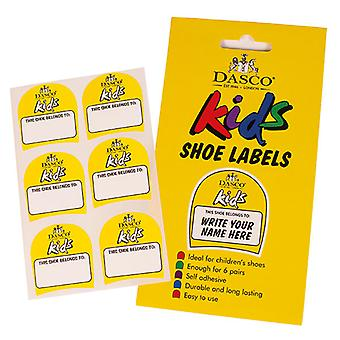 Dasco Kinder Schuh Etiketten - Einheitsgröße