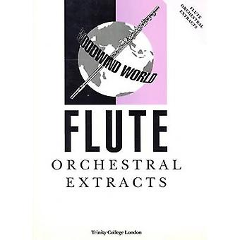 Woodwind World Orchestral Extracts - Flute by H. Clarke - 978085736095