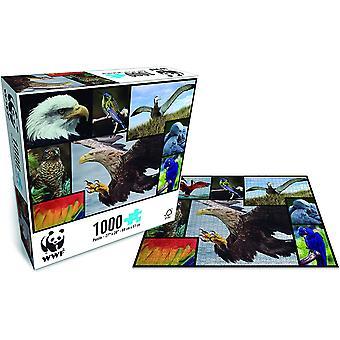 WWF 1000 Kus Puzzle - Ptáci