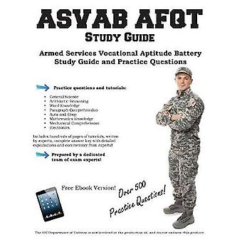 ASVAB Study Guide Armed Services Vocational Aptitude   Battery Study Guide   and Practice Questions by Complete Test Preparation Inc.