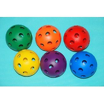EVB-0049, Palla di plastica Softball - w/holes