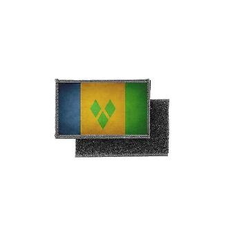 Patch ecusson prints vintage badge flag st vincent grenadines