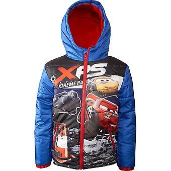 Pojat HS1354 Disney Cars Talvi hupullinen takki