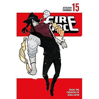 Fire Force 15 tekijä Atsushi Ohkubo - 9781632367228 Kirja