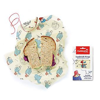 Paddington Bear Beeswax Sandwich Wrap