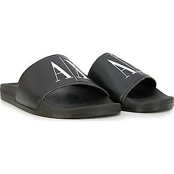 Armani Exchange AX Logo Sliders