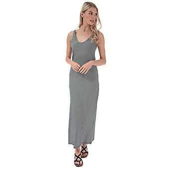 Women's Only May Life Stripe Maxi Dress in Blue