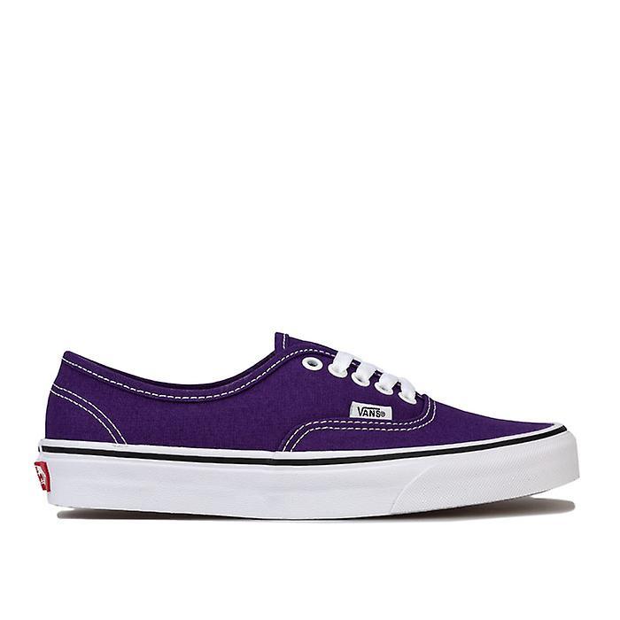 Women's Vans Authentic Skate Shoes in Purple mJv2H