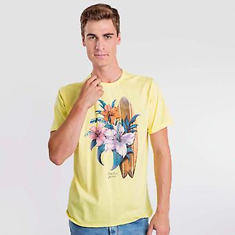 T-Shirt Giallo Tempo