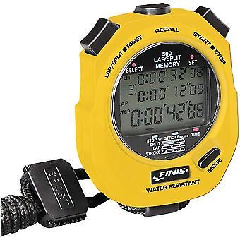 FINIS 3X - 300M chronomètre - jaune
