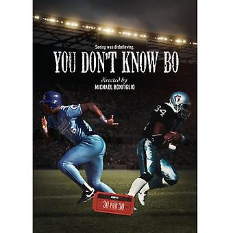 You Don't Know Bo [DVD] USA import