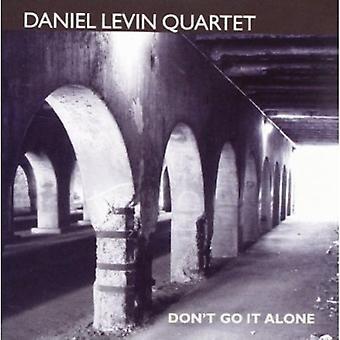 Daniel Levin Quartet - Don't Go It Alone [CD] USA import