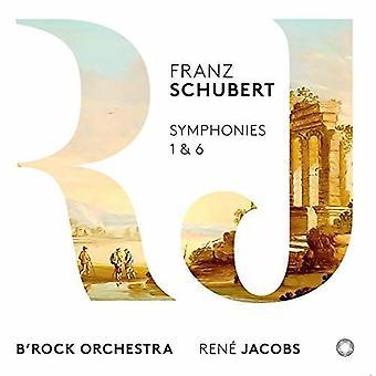 Schubert / B'Rock Orchestra - Symphonies 1 & 6 [SACD] USA import