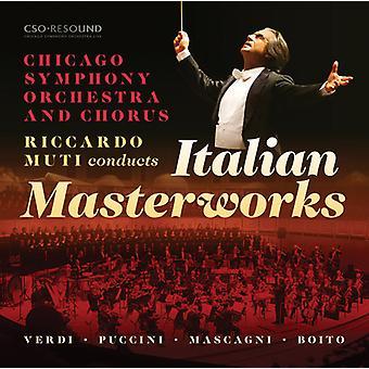 Riccardo Muti Conducts Italian Masterworks [CD] USA import