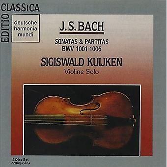 Partitas & Sonatas Bwv 1 [CD] USA import