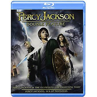 Percy Jackson Double Feature [BLU-RAY] USA import