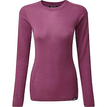 North Ridge Women's Convect-200 Merino Long Sleeve Top Purple