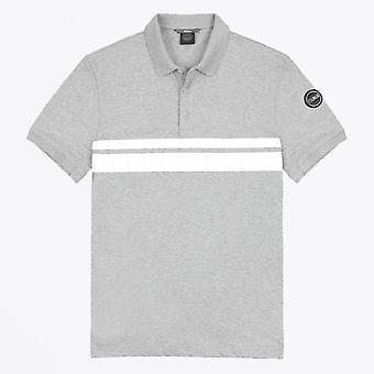 Colmar  - Double Stripe Polo T-shirt - Grey